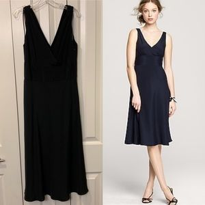 J. Crew Black Sophia Dress